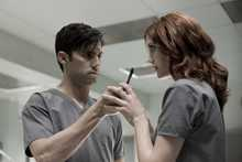 Milo Ventimiglia and Lauren Lee Smith play a deadly game in MGM's Pathology.
