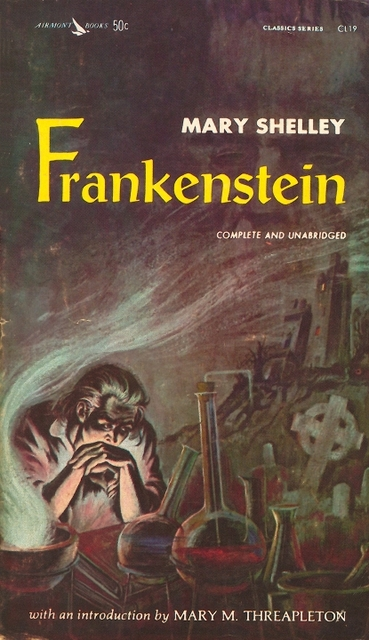 Frankenstein novel