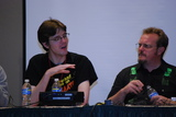 Nate and Steve Ringgenberg at the Not Dead Yet Horror Classics panel