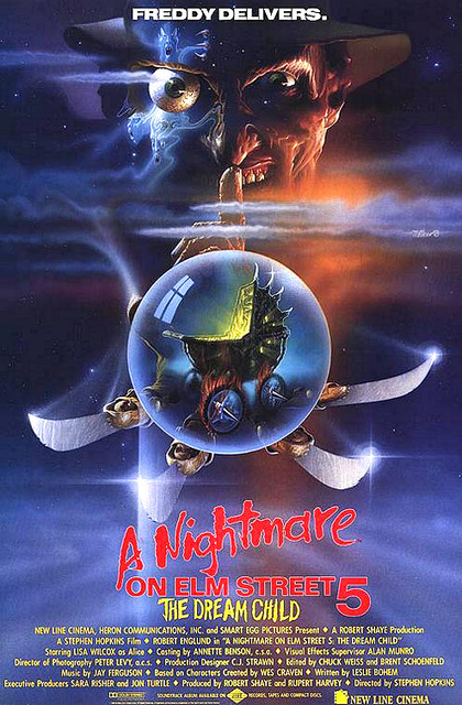 Nightmare on Elm Street 5 poster