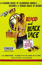 Blood and Black Lace 1964 poster