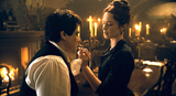 Benicio del Toro and Emily Blunt in The Wolfman (2010)