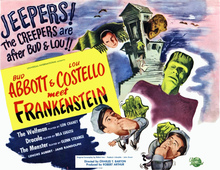 Abbott and Costello Meet Frankenstein Quad