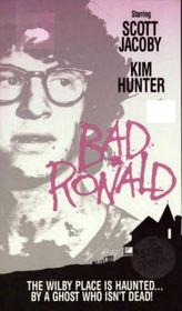 Bad Ronald VHS