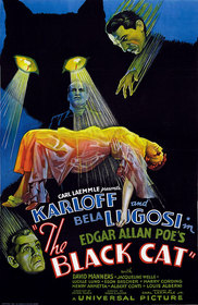 The Black Cat 1934 poster