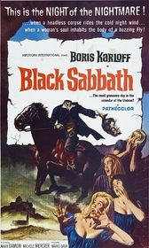 Black Sabbath poster (AIP)