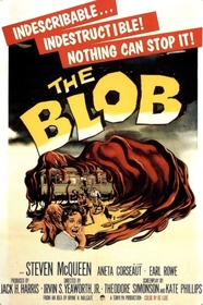 Blob 1958 poster