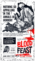 Blood Feast 1963 poster