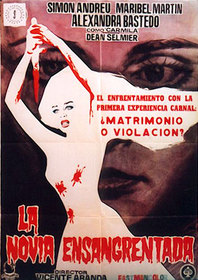 Blood Spattered Bride poster