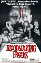 Blood Sucking Freaks poster