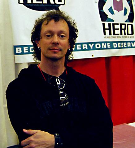 Brian Pulido at Phoenix Comicon 2009