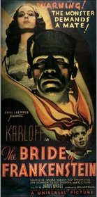 Bride of Frankenstein 1935 poster