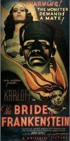 Bride of Frankenstein 1935 poster
