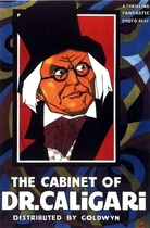 Cabinet of Dr. Caligari 1920 poster