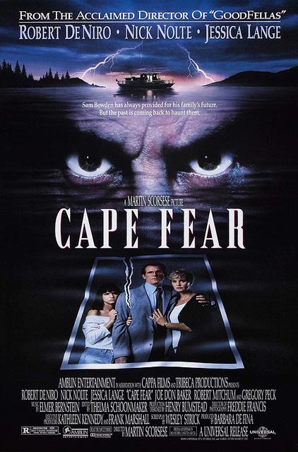 Cape Fear 1991 poster