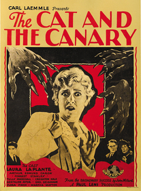 Cat and the Canary 1927 poster