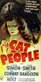 Cat People 1942 poster