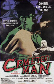 Cemetery Man poster