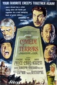 Comedy of Terrors 1964 poster