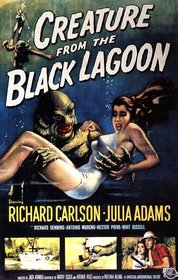Creature from the Black Lagoon 1954 poster