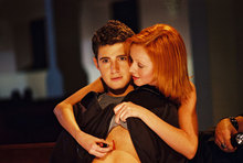 "Julian Morris and Lindy Booth in ""Cry_Wolf"""
