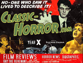 Curse of Classic-Horror faux poster