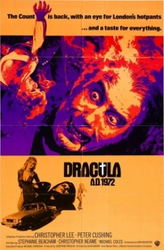 Dracula AD 1972 poster
