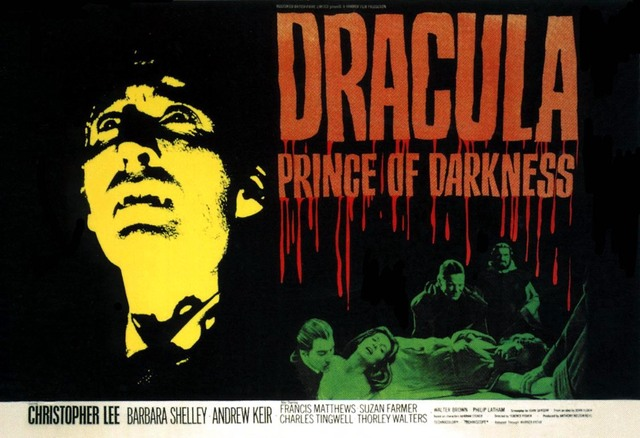 Dracula: Prince of Darkness poster