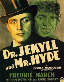 Dr. Jekyll and Mr. Hyde 1931 poster