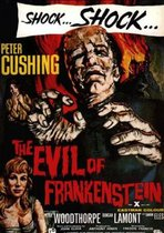 Evil of Frankenstein poster