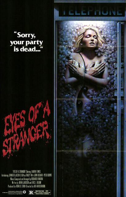 Eyes of a Stranger poster