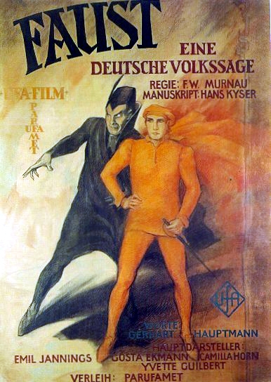 Faust 1926 poster