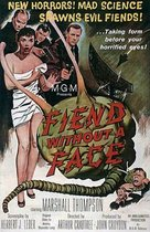 Fiend without a Face poster