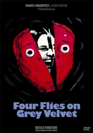 Four Flies on Grey Velvet DVD