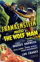 Frankenstein Meets the Wolfman poster