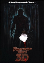 Friday the 13th Part 3 poster