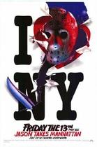 Friday the 13th Part VIII: Jason Takes Manhattan poster