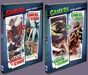 Gamera Double Features