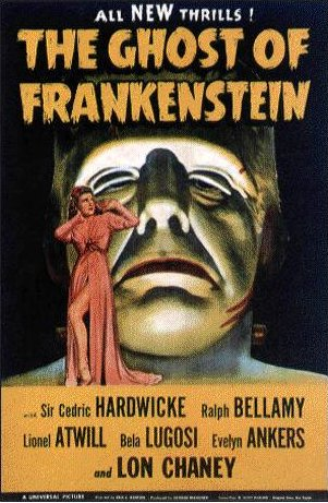 Ghost of Frankenstein poster