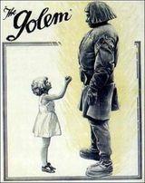 The Golem 1920 poster