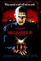 Hellraiser 3 poster