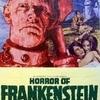 Horror of Frankenstein poster