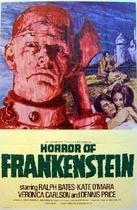 Horror of Frankenstein poster
