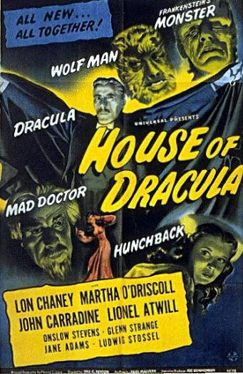 House of Dracula 1945 poster