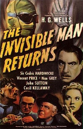 Invisible Man Returns poster