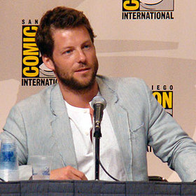 Jamie Bamber at the Battlestar Galactica panel