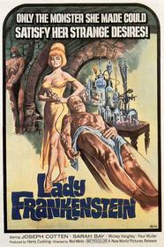 Lady Frankenstein poster