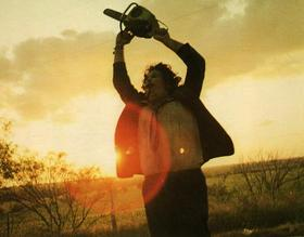 Leatherface in The Texas Chain Saw Massacre (1974)