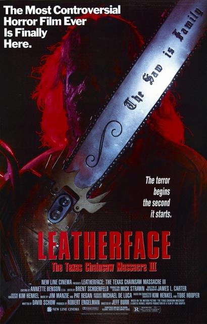 Leatherface: Texas Chainsaw Massacre III poster