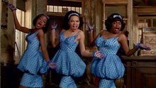 The funky Greek Chorus in Little Shop of Horrors (1986).